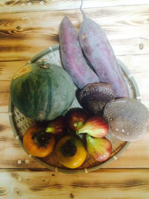 本日頂いた野菜たち