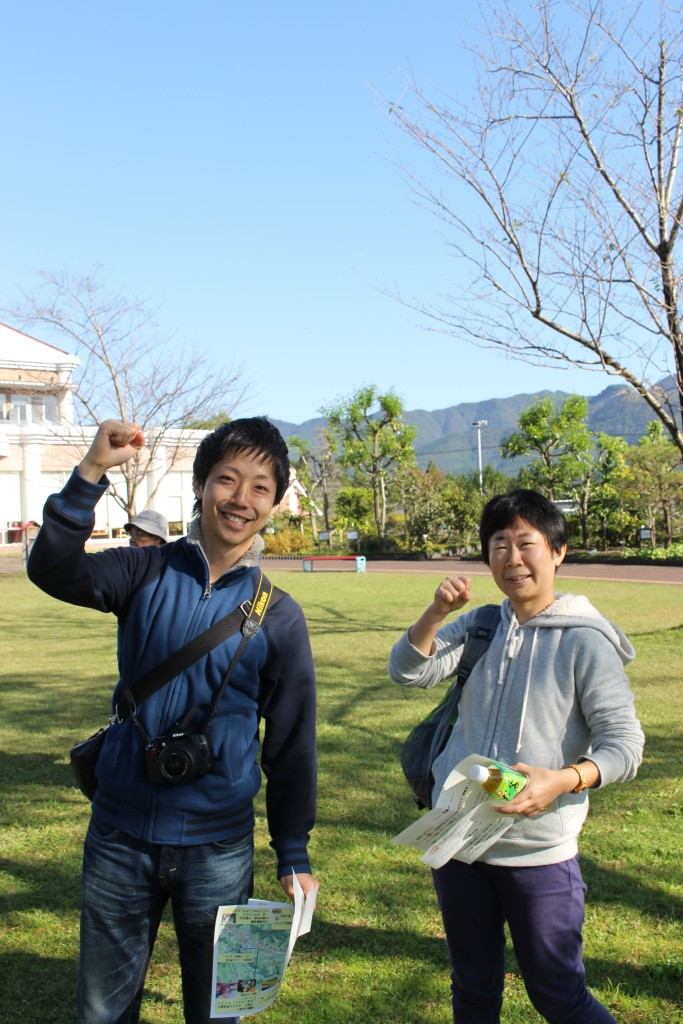 隣は須木地区の協力隊で活躍する石黒さん。