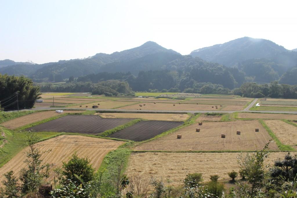 小林市野尻町の体験場所の目の前に広がる景色